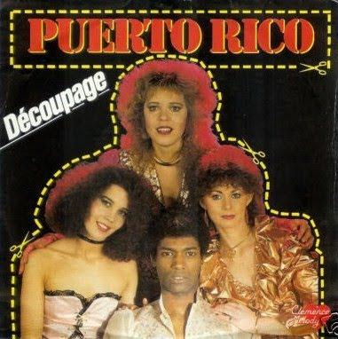 Decoupage - Puerto Rico 1982 / 12 inch