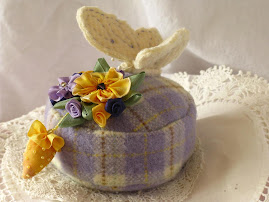 Butterfly pincushion