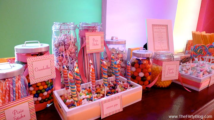 Once A Bride Weddings Candy Buffet Sweet