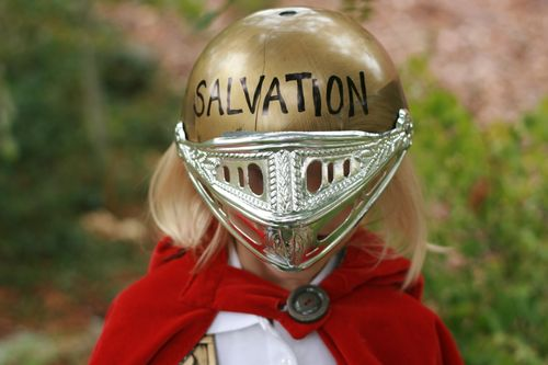 Take the helmet of salvation... - Ephesians 6:17a