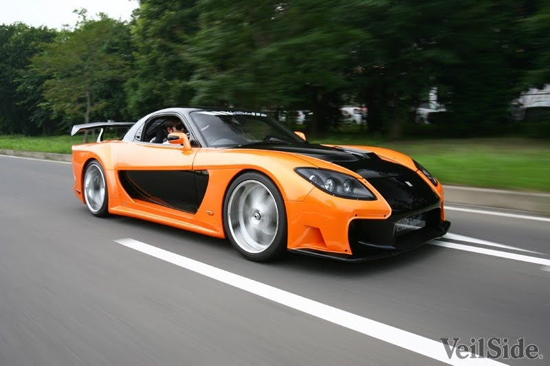 All about cars: VeilSide RX7