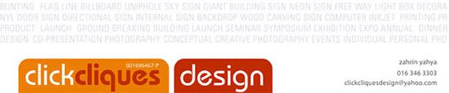 clickcliques design