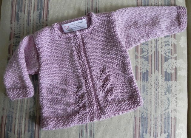 Not Just About Knitting Provence Baby Cardigan