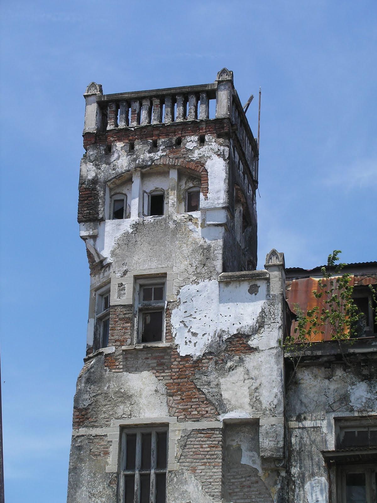 Semarang, a City Walkthrough: An Old Building at ...
