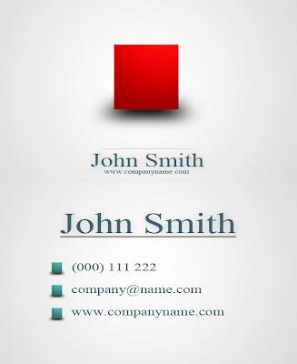exclusivos 5 tarjetas de presentacion en formato PSD ~ Diseño | web