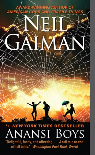 The Hat Rack: Neil Gaiman - Anansi Boys