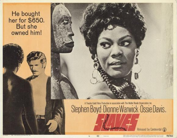 film slaves 1969 Slaves 1969 dvd – extremely rare movie – ossie davis, dionne warwick extremely rare movie thought to have been lost forever only a poor copy had been floating around in french – not even.