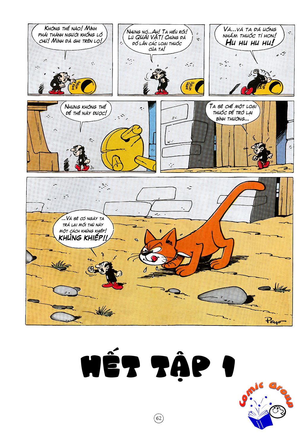 Xì Trum chap 3 - Trang 21
