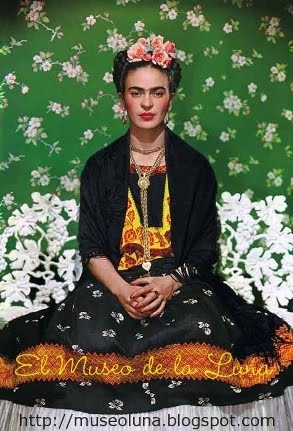 Frida, presidenta del museo