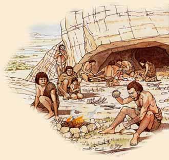 Los primeros refugios eran naturales, regularmente en Cuevas o entre grandes montículos de piedra.