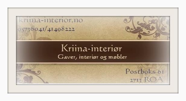 Kriina-interiør