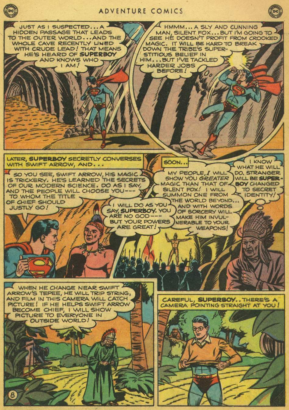 Read online Adventure Comics (1938) comic -  Issue #164 - 10