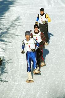 gara di Snowshoeing