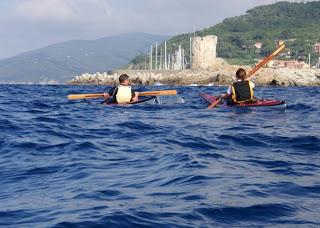 Qaqatuq e Matilde a Marciana Marina