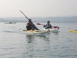 Peteraq e Raffy sul lago di Garda