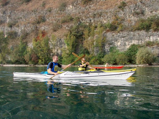 Feduk e Ricky Barone sul lago di Garda