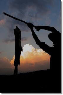 Luccio pescato nel lago di Annone