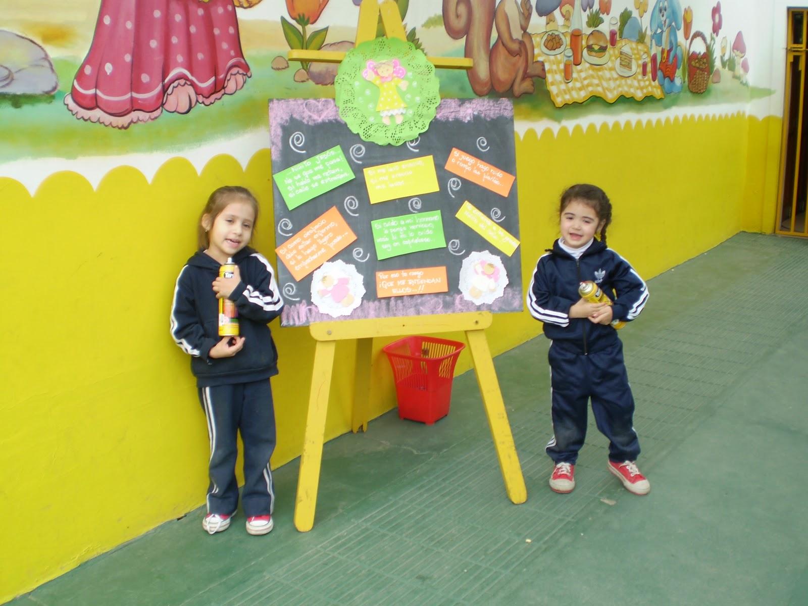 Maestra jardinera carteleras for Cancion para saludar al jardin de infantes