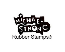 Michael Strong rubber stamps