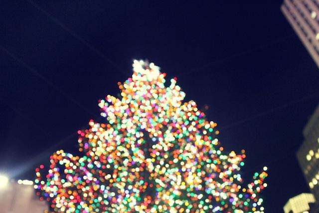 The 30 Rockefeller Plaza Christmas Tree in New York City