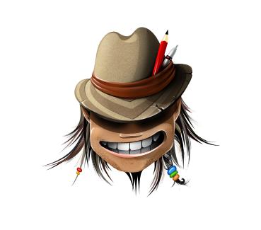 CrazyNick - персонаж для дизайнера