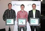 Un diplôme honorifique pour Guillaume, Danny et Sébastien