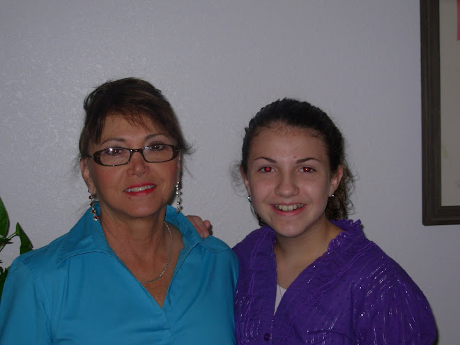 My Sarah Palin look w/granddaugther