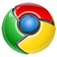Google Chrome Button