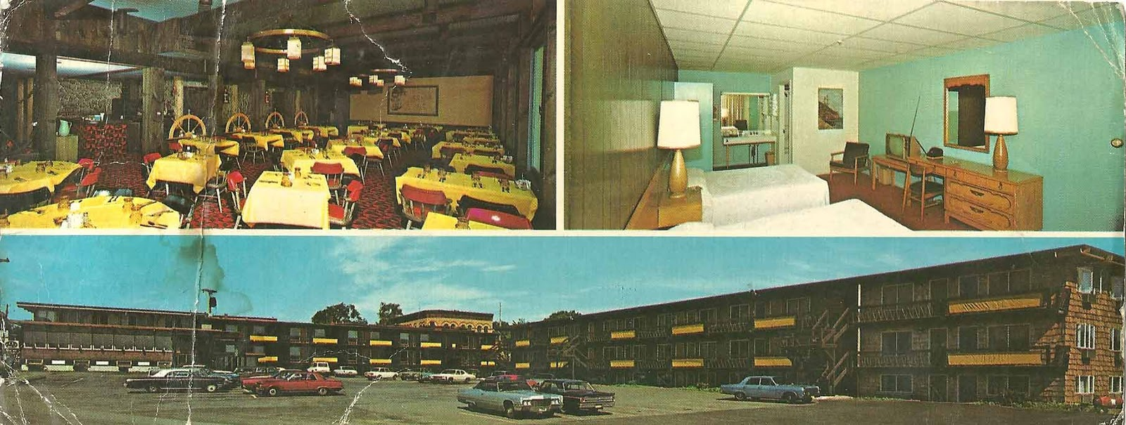 Postcard diary rockland for Trade winds motor inn rockland me