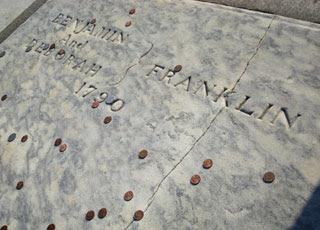 ben franklin gravestone
