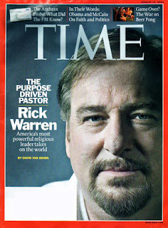 rick warren time