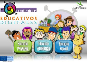 Contenidos Educativos Digitales de Extremadura
