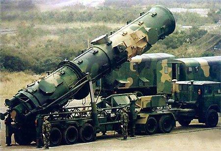 DF-21 missle launcher