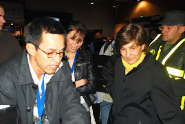 Con la Ministra de Educacin en el 2008