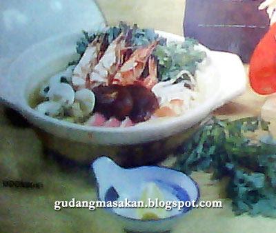 Resep Masakan Udonsuki