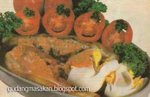 Resep Masakan Telur Pecel Bumbu Santan