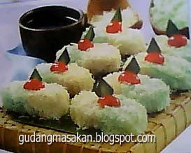 Resep Kue Getuk Kentang Keju Pandan
