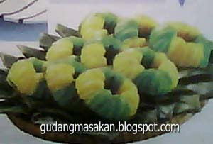 Resep Kue Getuk singkong Dua Warna