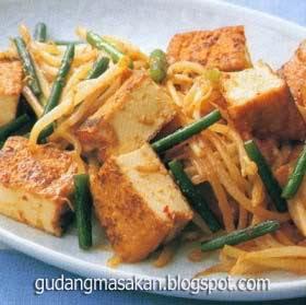 Resep Masakan Tahu Sayur