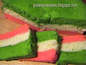 Resep Kue Pelangi