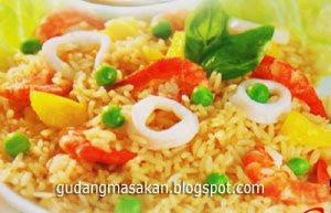 Resep Masakan Nasi Goreng Seafood