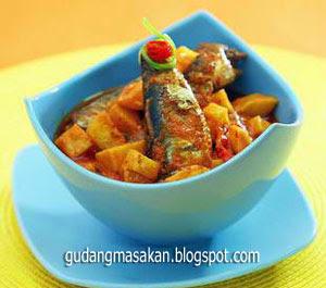 Resep Masakan Sarden Masak Santan