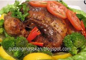 Resep Masakan Ayam Bungkus Saus Kecap