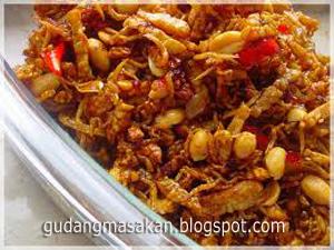Resep Kacang Goreng Pedes