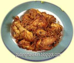 Resep Masakan Ayam Goreng Lengkuas