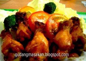 Resep Masakan Ayam Panggang Jeruk Madu