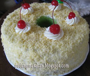 Resep Masakan Chiffon Pandan Cake