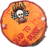 Bad Ass Flame & Skull Pantyliner