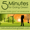 5 Minutes for Going Green