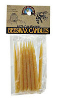Down to Earth Beeswax Candles